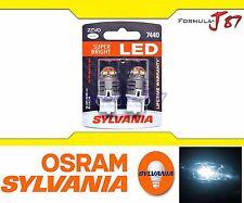 Sylvania ZEVO LED light Bulb 7440 White 6000K Brake Driving DRL Back Up Reverse