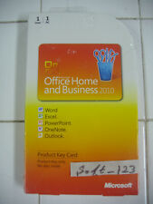Microsoft Office 2010 Home and Business Product Key Card (PKC) =NEW SEALED BOX=