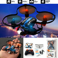 MINI RC Quadcopter UFO 2.4GHz 4CH 6-Axis GYRO Nano Helicopter Drone RTF Toy Gift