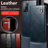 Hülle für Xiaomi Mi 10T/10T Pro/10T Lite/POCO X3 NFC Leder Schutzhülle Klappetui