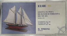 ELSIE - Goletta da pesca dei banchi di Terranova - scala 1:75 IL TIMONE ART. 08