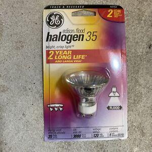 GE 35w 120v GU10 Edison Flood Halogen Light Bulb