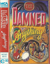 THE DAMNED ANYTHING CASSETTE ALBUM ROCK New Wave Punk Goth 1986 UK  MCGC 6015