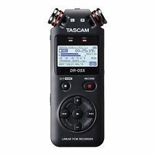 TASCAM DR-05X - Registratore audio stereo portatile professionale con interfacci
