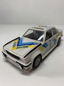 Burago 0153 1/24 Diecast Opel Ascona 400 Rally #2 Vintage Rare GC