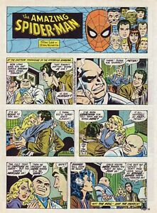 Spider-Man by Lee & Romita - Kingpin - full page Sunday comic - April 13, 1980