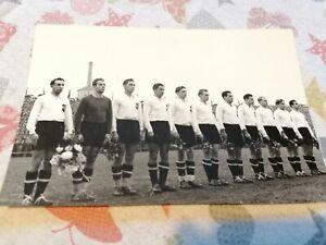 HUNGARY - AUSTRIA 4:3, 1950, AUSTRIA FOOTBALL TEAM. HANAPPI, OCWIRK, TEAM PHOTO