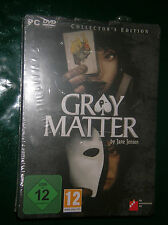 Gray Matter - Collector's Edition (PC, 2010)