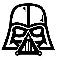 Darth Vader Star Wars The Force Awakens Vinyl Decal Sticker Car Rogue Window