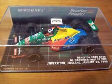 1/43 BENETTON 1989 FORD B188 MIKA HAKINNEN 1st F1 TEST SILVERSTONE