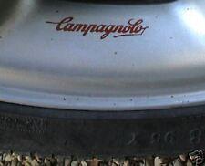 """Campagnolo rojo y claro de aleación, ruedas de alambre pegatinas de 2,5 """"Conjunto De 5 Ferrari 250 Gto"""