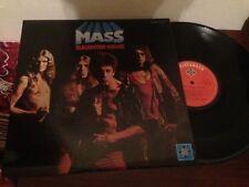 "MASS - SLAUGHTER HOUSE 12"" LP SPAIN HARD ROCK"