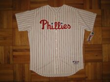 Authentic Phillies Blank MAJESTIC jersey 54 WHITE PS