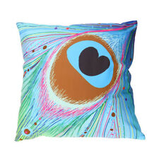 2018 Fashion Print Pillow Cases Polyester Sofa Car Cushion Cover Home Decor Sky Blue
