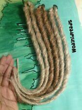 1 Clip in Twist Ash Blonde or Medium Blonde Synthetic Dreads Dreadlocks