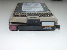 HP fibre channel 500GB hard drive, 370789-001,  seagate ST3500071FC, NB50058855