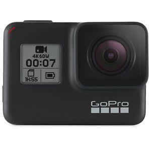 GoPro HERO7 Black Waterproof Action Camera 4K HD 12MP - Certified Refurbished