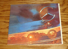 Original 1985 Mercedes Benz Full Line Sales Brochure 85 190 300 380 500 Class