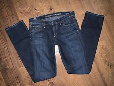 CITIZENS OF HUMANITY AVA LOW RISE STRAIGHT LEG JEANS! 27