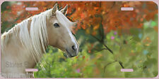 BEAUTIFUL HORSE PORTRAIT PAINTED LICENSE PLATE, can be Personalized