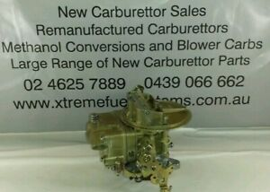 RECON 350 HOLLEY LIST 7448 CARBURETTOR GOLD ORIGINAL FINISH FULL RECONDITIONED