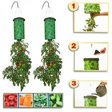 Blumenampel Pflanz Zauber Blumentopf hängend Hängeblumentopf Hänge Tomaten 1 Stü