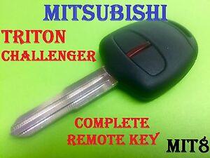 Mitsubishi Pajero Triton Remote Car Key 2006 to 2014 Keyless Transponder Mit8-46