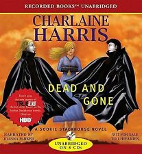 CHARLAINE HARRIS - DEAD AND GONE - Unabridged audio CDs - NEW