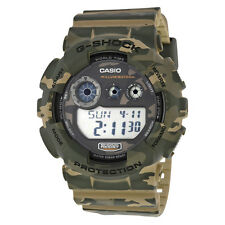 Casio G Shock Classic Brown Camouflage Resin Mens Watch GD120CM-5CR