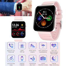 Women Girls Smart Watch Heart Rate Monitor Sync Call For Android LG G6 G7 Huawei