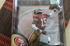 MICHAEL CRABTREE, NFL 23, RED JERSEY MCFARLANE, S F 49ERS
