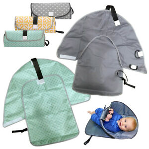 3 in 1 Baby Diaper Waterproof Baby Infant Cover Mat Folding Diaper changing Pad