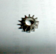 """10 Tooth Stainless Steel Pinion Gear 48 Pitch 1/8"""" shaft COX slot car NOS"""