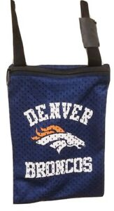 DENVER BRONCOS NFL Gameday Jersey Small Pouch Purse Bag New NWT