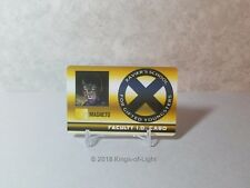 Magneto Faculty ID Card - XID 023 Marvel X-Men Xavier's School HeroClix