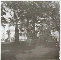 Francia Menton Villa Costa Azure Stereo L28n Placca Da Lente Vintage c1910
