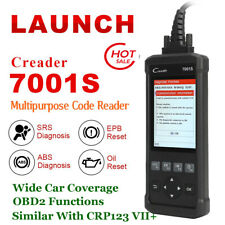 LAUNCH OBD2 Auto Car Diagnostic Scanner Tool ABS Airbag SRS Updated ML619 CR619