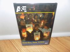 Anti-Gay Hate Crimes (DVD, 2008) A&E - BRAND NEW, SEALED!