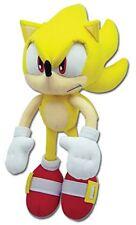 "Great Eastern Sonic the Hedgehog Plush-12"" Super Sonic (GE-8958)"