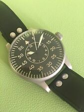 LACO original 1945 LUFTWAFFE VINTAGE 55MM German Pilot watch Collector Condition