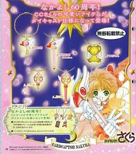 Bandai Card captor Sakura Die Cast Charm Gashapon Collection  #Full Set of 5