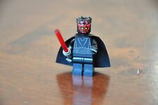 LEGO Star Wars Mini Figure Minifig DARTH MAUL Lightsaber and Cape AS NEW