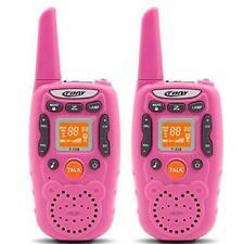 Radio walkie talkies dos maneras juguete 22 canales largo alcance para niños
