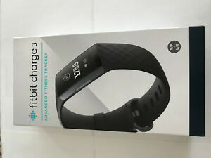 Fitbit Charge 3 black Fitness Activity Tracker