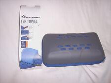 Sea To Summit Tek Towel Microfiber Towel Beach Towel Camping Travel Boating Bath