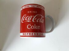 Coca-Cola ceramic mug