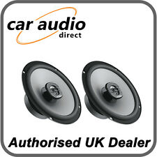 """Hertz Uno X 165 6.5"""" 16.5cm Car Audio 2 Way 4Ω Coaxial Speakers Door Shelf 220W"""
