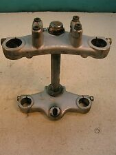 74 amf harley sx 175 250 triple tree fork clamp s412~