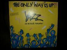 """*YAZZ""""THE ONLY WAY IS UP   Blaues Vinyl rare Erstauflage"""