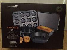 Kitchen Craft Master Class Non-Stick 5 Piece Bakeware Baking Heavy Duty Set BNIB